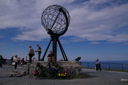 Nochmal Jörg am Nordkap