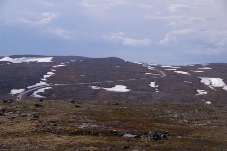 Die Straße zum Nordkap