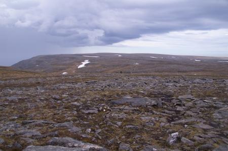 Wanderweg zum Knivskjellodden