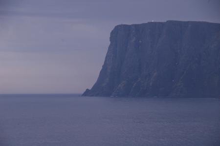 Das Nordkap vom Knivskjellodden aus gesehen