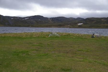 zelten in Skarsvåg