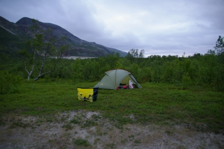 Camping bei Lakselv
