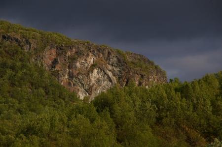zwischen Lakslev und Karasjok