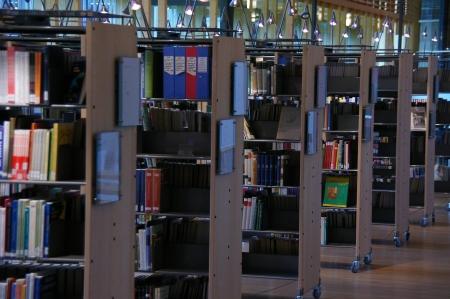Die Bibliothek in samischer Sprache im Sami-Parlament