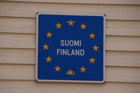 Ich betrete Finnland