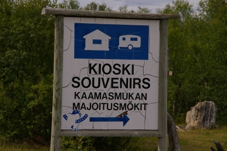 Kiosk und Souveniers