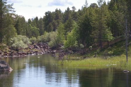 Zwischen Inari und Unkonjärvi