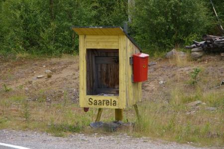 Ein finnischer Hausbriefkasten