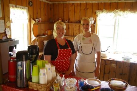 bei Katja und Tuula
