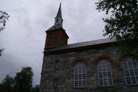 Die Kirche von Utsjoki