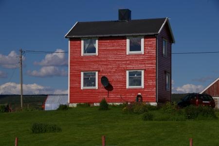 Ein 'red building'