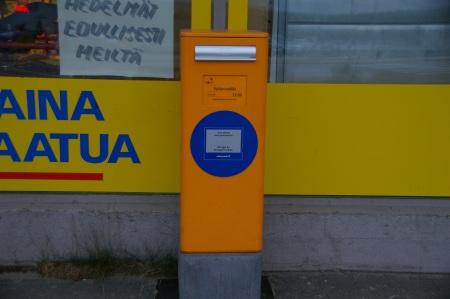 Finnischer Postkasten