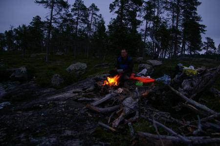 Abend auf Junttisaari