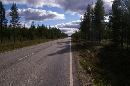 Die Straße nach Sodankylä