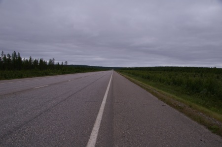 Straße nach Kolari