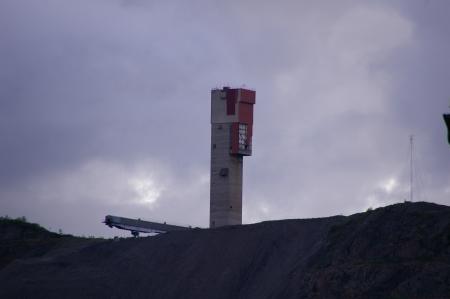 Bergbau in Kiruna