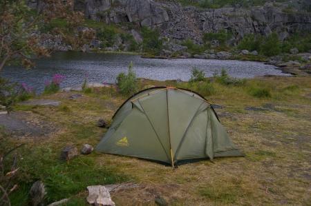 Camp An der E10 Richtung Narvik