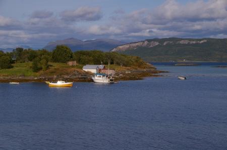 Boote, Inseln und Meer