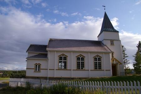 Kirche bei Stonglandet auf Senja