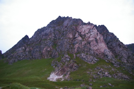 ... und Berge im Rücken