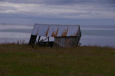 Hütte (alt und windschief)