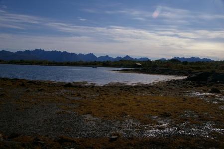 Küste bei Stokmarknes