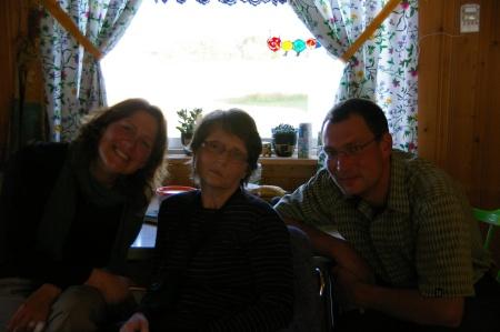 Trish, Rebekka und Jörg