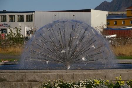 Brunnen in Svolvær