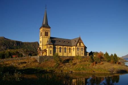 Kirche in Kabelvåg