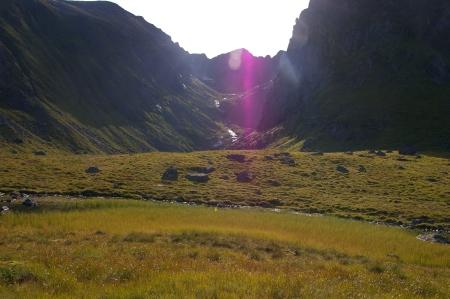 Berge und Licht
