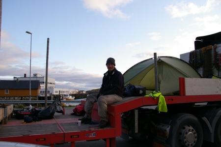 Camp in Moskenes