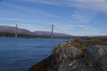 Brücke nach Sandnessjøen