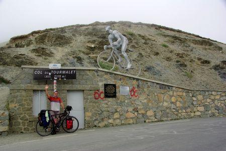 Jörg auf dem Col du Tourmalet