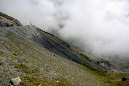 Col du Tourmalet Abfahrt nach Westen