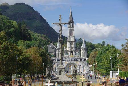 Die Kirche von Lourdes