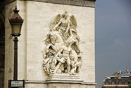 arc de triomphe: Detail