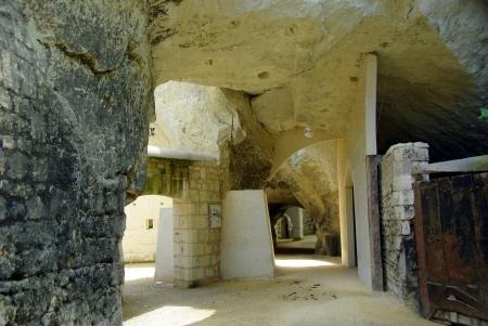 Höhlenwohnungen hinter Samur