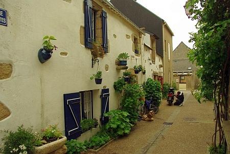 hübsch renovierte Hausfront