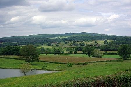 Landschaft vor Bourbon-Lanccy