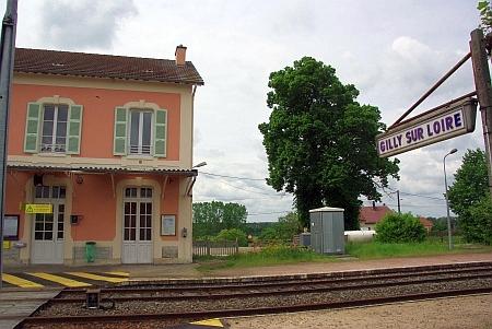 Bahnhof Gilly sur Loire